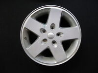 mags OEM JEEP WRANGLER 5x127 17 pouce silver