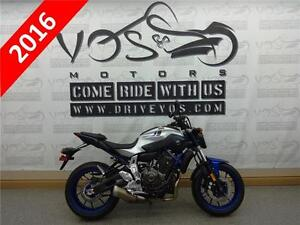2016 Yamaha - FZ07 - V2272 - **Financing Available
