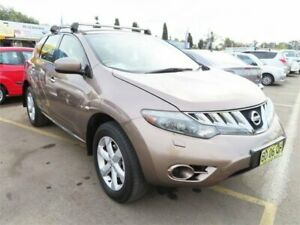 2009 Nissan Murano Z51 ST Bronze 6 Speed Constant Variable Wagon Minchinbury Blacktown Area Preview