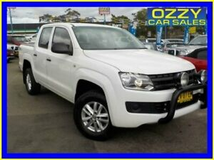 2015 Volkswagen Amarok 2H MY15 TDI400 Core Edition (4x4) White 6 Speed Manual Dual Cab Utility