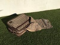 Aquascutum travel set from the 60's