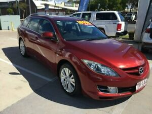 2008 Mazda 6 GH1051 Classic Maroon 5 Speed Sports Automatic Wagon Maryborough Fraser Coast Preview