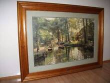 LARGE FRAMED LIMITED EDITION PRINT Adamstown Newcastle Area Preview