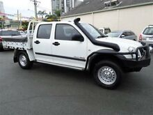 2005 Holden Rodeo RA LX (4x4) White 5 Speed Manual Crewcab Main Beach Gold Coast City Preview