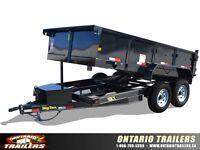 Big Tex 10LX Tandem Axle Low Profile Extra Wide Dump