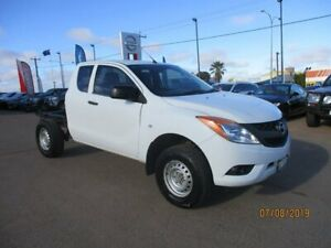 2012 Mazda BT-50 UP0YF1 XT Freestyle White 6 Speed Manual Cab Chassis South Kalgoorlie Kalgoorlie Area Preview