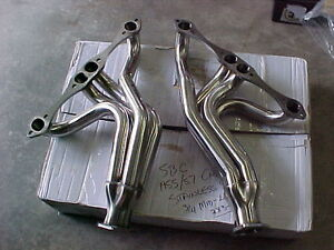 SBC Stainless Steel 1955-1957 Chevy Headers 265 283 302 305 327 London Ontario image 1