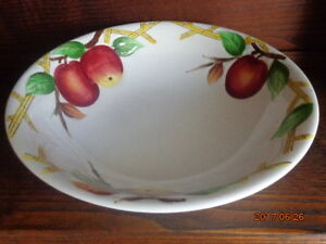 VINTAGE Serving Bowl:  Great for Fall Decor!