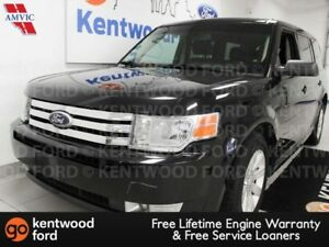 2012 Ford Flex SE FWD with power leather seats, rear climate con