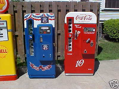 Vendo 81A CAVALIER 72 Coca Cola Coke Machine Dr Pepper RC Cola soda  GAS PUMP