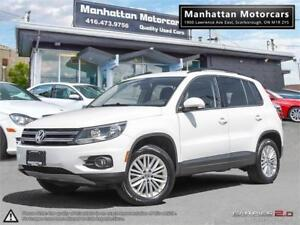2016 VOLKSWAGEN TIGUAN SE 4MOTION |BLUETOOTH|CAMERA|ONLY 36000KM