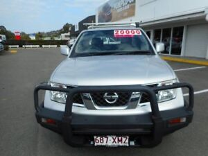 2010 Nissan Navara D40 ST-X King Cab Silver 6 Speed Manual Utility