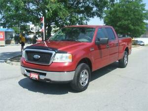 2008 Ford F-150 XLT  / 4X4 / SUPER CREW / 6.5 FT BOX