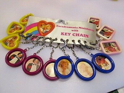 Vintage 80's NOS Key Ring Chain Photo Frames Store Display 1980s MICHAEL JACKSON](Michael Jackson 80s)
