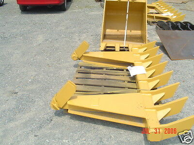 "dozer blade root rake, 116"" wide, 1120 lbs AR400 steel NEW, USA Attachments"