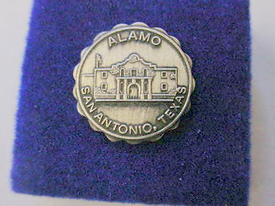 Vintage The Alamo Lapel Pin   Hat Pin   San Antonio Texas