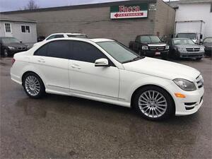 2011 MERCEDES BENZ C250 AUTO 4MATIC CERTIFIED & E-TEST London Ontario image 2