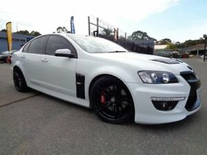 2011 Holden Special Vehicles Clubsport E3 R8 White 6 Speed Manual Sedan Pooraka Salisbury Area Preview
