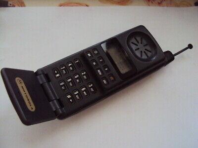 RETRO BRICK MOTOROLA MICROTAC FLIP ANALOGUE MOBILE PHONE