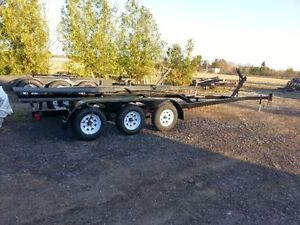 2016 tri axle trailer 15600lb capacity up to 38' boat $5999