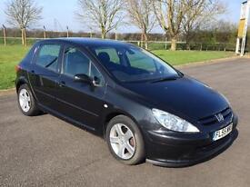 2005/55 Peugeot 307 2.0HDi 136 Sport 5 door Diesel
