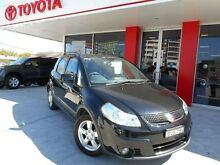 2011 Suzuki SX4 GY MY10 Adventure AWD Black Continuous Variable Hatchback Allawah Kogarah Area Preview