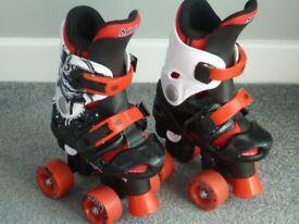 Osprey Adjustable Quad Roller Skates, size 10-12 (Eur 28-31).