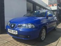 Seat Ibiza 1.4 16v SE 5dr ONLY 92405 GENUINE MILES