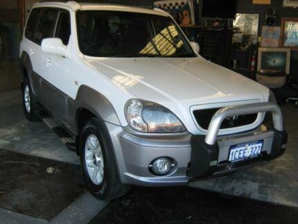 2004 Hyundai Terracan 05 Upgrade White 4 Speed Automatic Wagon Fremantle Fremantle Area Preview