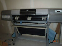 "HP Designjet 5000PS 42"" wide printer - ONLY - $1000"