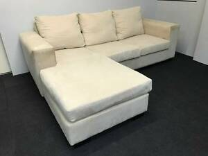 L Shape Lounge / Sofa Bed / High Quality - Can Deliver Eastwood Ryde Area Preview
