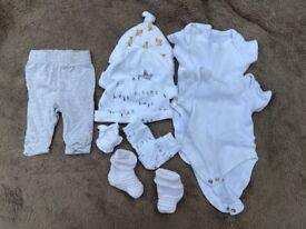 Gender neutral newborn baby bundle