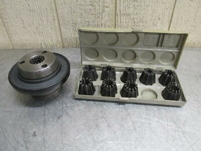 Jacobs Model 50 Rubber-flex Collet Chuck 500 Series Collets L00 Spindle Adapter