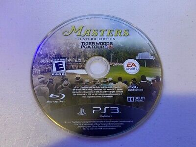 Tiger Woods PGA Tour 14 Masters Historic Edition (PS3 PlayStation 3) - DISC ONLY
