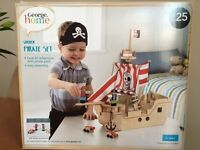 Kids Wooden Pirate Set by George Home