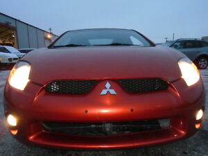 2006 Mitsubishi Eclipse GT SPORT PKG Coupe (2 door)ONLY 102,000K