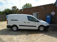 Peugeot Partner L2 716 1.6 92 CREW VAN EURO 5 DIESEL MANUAL WHITE (2015)
