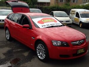 2009 Holden Commodore VE MY09.5 International Red 4 Speed Automatic Sportswagon Campbelltown Campbelltown Area Preview