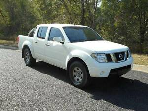 2006 NISSAN NAVARA RX DUAL CAB UTE 2.5LT TURBO DIESEL AUTO 4X4 Clear Mountain Pine Rivers Area Preview