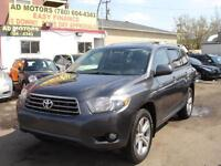 2008 TOYOTA HIGHLANDER AWD FULL LOAD 180K-100% APPROVE FINANCING