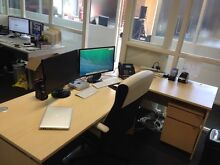 Large Office Desk in great condition with draw set (URGENT SALE) Mitcham Whitehorse Area Preview