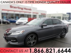2017 Honda Accord Sedan TOURING | WINTER WHEELS | 1 OWNER | NO A
