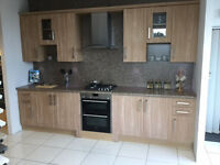 Walnut Shaker Kitchen up to £3500 ono