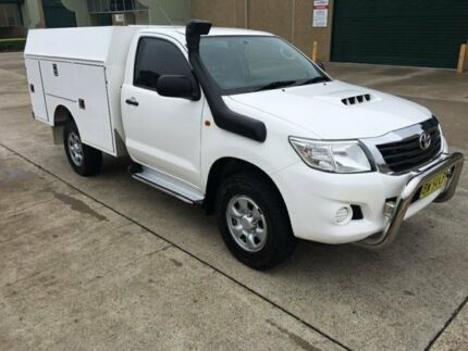 Toyota Hilux 4x4 Diesel 2013 - Fitted with XL-Service body - AUTOMATIC Seven Hills Blacktown Area Preview