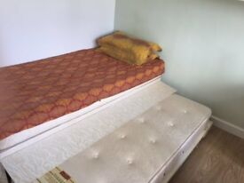 Single bed which can be converted into a double bed for sale