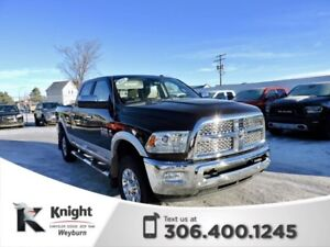 2017 Ram 3500 Laramie Heated/Cooled Leather Remote Start NAV Tow
