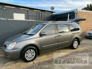 2011 Kia Grand Carnival VQ MY11 SI Silver 6 Speed Automatic Wagon Barrack Heights Shellharbour Area Preview