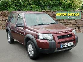 LAND ROVER FREELANDER 2.0 Td4 S Station Wagon Automatic (red) 2004