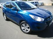 2010 Hyundai ix35 LM MY11 Active Ocean Blue 6 Speed Sports Automatic Wagon Melrose Park Mitcham Area Preview