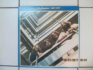 Classic The Beatles 1967-1970 Double Album Vinyl Lps Circa 1973